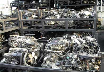 Japanese used auto engines