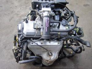 B2 Mazda Demio Engine