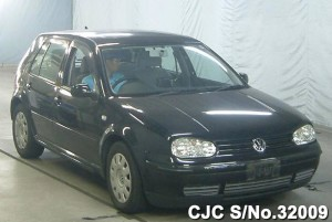 Disassembled Volkswagen Golf
