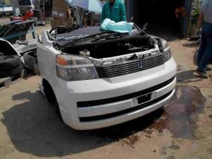 Toyota Corolla Half Cut